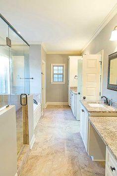 Garage remodel to bedroom master suite bonus rooms 32 new Ideas Attic Bathroom, Attic Rooms, Attic Spaces, Bathroom Layout, Master Bathroom, Bathroom Ideas, Attic Playroom, Attic House, Bathroom Remodeling