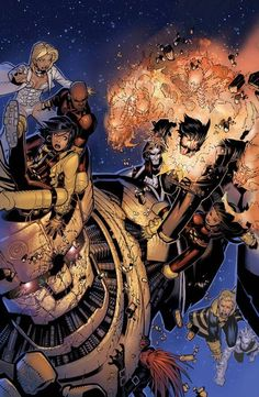 All-New X-Men #6 X-Men 50th Anniversary Variant by Chris Bachalo and Tim Townsend