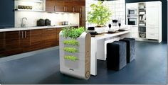 James Wood - James Wood has designed a sleek and contemporary compost bin designed for urban green thumbs. Vedge is a multi-level compost bin featuring slots fo. Home Design, Interior Design, Cabinet Design, Modern Family, Kitchen Decor, Kitchen Plants, Wooden Kitchen, Kitchen Ideas, Outdoor Furniture Sets