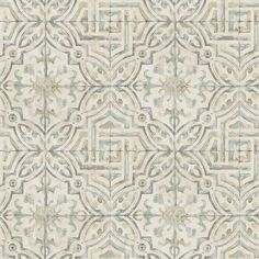 With a color palette, this Spanish Tile L x W Geometric Wallpaper Roll print is timeless. Gently faded brush strokes tie this rustic chic look together perfectly. This is a prepasted, high-performance wallpaper. Look Wallpaper, Tile Wallpaper, Botanical Wallpaper, Wallpaper Samples, Geometric Wallpaper, Scenic Wallpaper, Damask Wallpaper, Wallpaper Decor, Wallpaper Ideas
