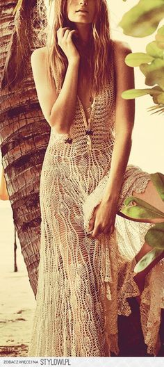 ✿Crochet dress