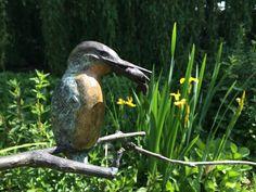IJsvogel in brons