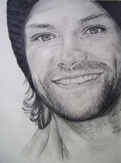Jared Padalecki <3 this is an amazing Supernatural fanart by @shr2da1 on twitter ;)