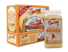 Bob's Red Mill Organic Grain Quinoa, 26 Ounce Packages (Pack of 4)