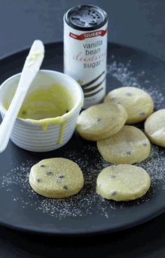 Vanilla Passionfruit Shortbread recipe