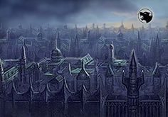 City of Shadows from the The Blood Moon expansion, Talisman: Digital Edition board Game.