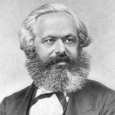 K. Marx, the philosopher, economist and sociologist.
