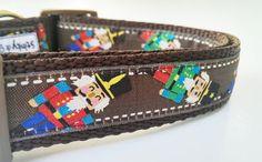 The Nutcracker  Dog Collar / Handmade / Pet by StinkyandSweetPea