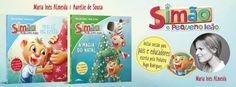 Sinfonia dos Livros: Novidade BookSmile | As Aventuras do Simão | Maria...