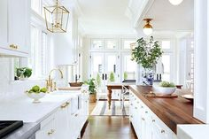 Sharing a sneak peek of Amber Fillerup's home design today on the blog. This kitchen was an inspo pic we loved! Amy Corley Interiors