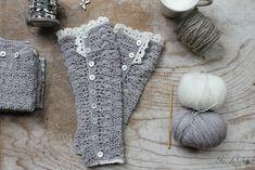 Scaldamuscoli fai da te lavorati a crochet – Is laura