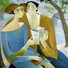 Art måleri Peintre français Francoise Collandre