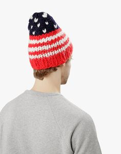 Born in the USA Beanie by Wool and the Gang #blackfridaygang
