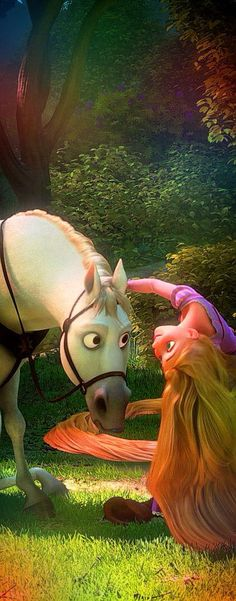 "Rapunzel and Max - From Disney's ""Tangled"""