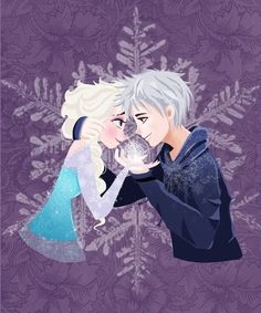 Fanart of Elsa (disney frozen) and Jackfrost (Rise of the Guardians) by me done by: photoshop Let's frost the world together! (Elsa and Jack) Frozen Love, Elsa Frozen, Disney Frozen, Frozen Pics, Elsa Elsa, Frozen Heart, Jack Frost Und Elsa, Jack Y Elsa, Dreamworks Animation