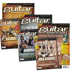 Bundle best of guitar school of rock - Songbook mit DVD, 29,70 €