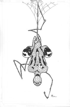 Space Between Panels - Spider-Man  (Art by Chris Bachalo)