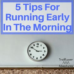 a reflection of my experience of running early in the morning Running is one of the most popular forms of morning exercise, and can help you to start your day in a good mood if you are not usually a morning person, running early in the day will help you to maintain discipline.