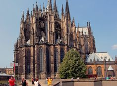 "Unesco world heritage ""Cologne dome"" Renaissance Time, Rhine River Cruise, Museum Island, 360 Virtual Tour, Canterbury Cathedral, Places Worth Visiting, Cologne Germany, Tower Of London, World Heritage Sites"