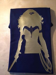 Wonder Woman Silhouette Tshirt by DJsDecals on Etsy Wonder Woman Movie, Woman Silhouette, 2 Colours, Cool Artwork, Colorful Shirts, Decals, Pictures, Etsy, Photos
