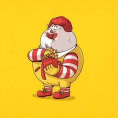 The Famous Chunkies Alex Solis Ronald Fat Cartoon Characters, Cartoon Faces, Cute Characters, Cultura Pop, Alex Solis, Fat Character, Funny Toons, Art Puns, Pop Art Drawing