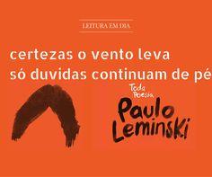 Resenha do livro Toda Poesia - Paulo Leminski