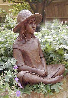 Ann Hogben 'April garden sculpture