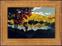 Untitled Joni Mitchell Paintings, Oil On Canvas, Landscape, Artwork, Artists, Live, Box, Scenery, Work Of Art