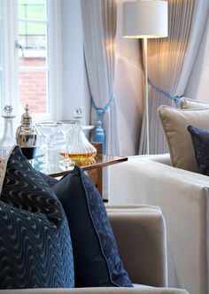 we styled this luxurious knowle hill park cobham apartment for millgate with minimalist menorca armchairs by