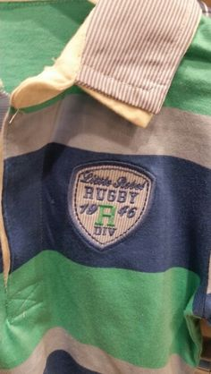 Primark little rebel rugby badge 1946
