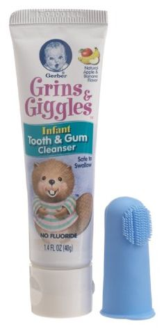 NUK/Gerber Gerber Grins and Giggles Infant Tooth and Gum Cleanser, Ounce Baby Baby Skin Care, Baby Care, Baby Toothbrush, Baby Medicine, Sick Baby, Pediatric Dentist, Amazon Baby, Baby Must Haves, Everything Baby