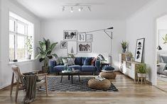 Scandinavian interior on Behance Scandinavian Interior, Entryway Bench, Gallery Wall, Furniture, Behance, Home Decor, Interior, Homemade Home Decor, Hall Bench