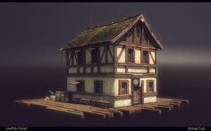 LowPoly House Render by AhmadTurk.deviantart.com on @deviantART
