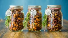 Go ahead. Go nuts. These mixes are perfect for weekend DIY projects, holiday gifts and the best way to make use of all those Mason jars.
