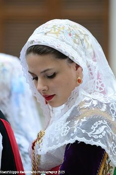 World Ethnic & Cultural Beauties Traditional Wedding, Traditional Dresses, Sardinian People, Arabian Beauty Women, European Costumes, Mediterranean People, Beautiful People, Beautiful Women, Costumes Around The World