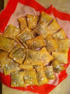 panzerotti con crema di castagne