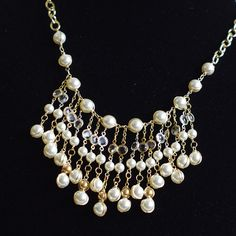 SALEAnthropologie inspired Necklace with by FridaHandmadeJewelry, $127.97