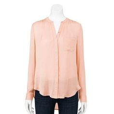 Apt. 9 Essential Solid Blouse - Women's