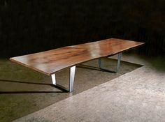 Live Edge Dining Tables - contemporary - dining tables - philadelphia - Jeffrey Greene Design Studio