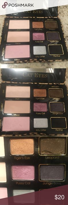 Too Faced Catwalk Pallet Too Faced Catwalk Pallet used but in great condition Too Faced Makeup Eyeshadow