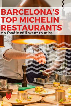 Everyone loves tapas bars, but sometimes you need to take things to the next level. These Michelin restaurants in Barcelona take market fresh ingredients and turn them into something incredible through innovative recipes. These luxury spots aren't cheap, but they're worth every penny! Barcelona Food, Barcelona Restaurants, Barcelona Travel, Spanish Cuisine, Spanish Food, Tapas Bar, Mediterranean Dishes, Tasting Menu, Foodie Travel