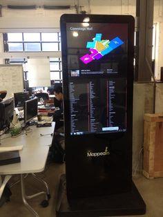 Check out MappedIn's nedw kiosk!