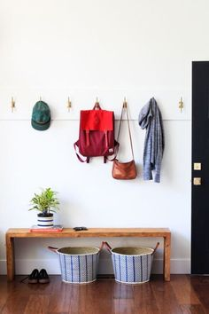 For the Home 66 Ideas For Narrow Closet Organization Diy Hooks Buying Petite Clothing Made Easy All Entryway Storage, Entryway Organization, Closet Storage, Entryway Decor, Organization Ideas, Entryway Ideas, Organized Entryway, Household Organization, Organizing