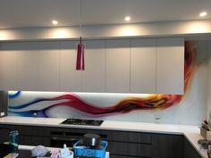 Printed Glass Splashbacks, Custom Design, Prints, Home, Ad Home, Homes, Haus, Houses
