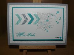 "Kreativreport: Karte ""Alles Liebe"""