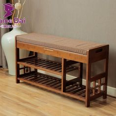 Cheap stool furniture, Buy Quality rack diy directly from China rack cabinet Suppliers: Bamboo Shoe Rack Bench Storage Organizer Bamboo Furniture Door Hallway Large Shoe Rack Home Entryway Shelf Stand Storage Stool Bamboo Shoe Rack, Wood Shoe Rack, Shoe Rack Bench, Bench With Shoe Storage, Shoe Rack Ottoman, Shoe Racks, Bamboo Furniture, Cabinet Furniture, Cheap Furniture