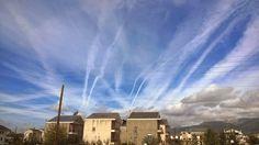 Τρομερές εικόνες αεροψεκασμών πάνω από τα Ιωάννινα... | Χημικοί Αεροψεκασμοί - Chemtrails