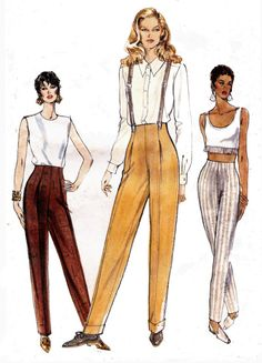 1995 Sewing Pattern Vogue 9203 Pleated by allthepreciousthings, $18.00