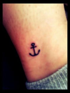 attractive cute anchor tattoo image cute rope anchor tattoo image cute ...