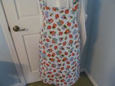 Bee's and flowers adorn this Reversable by KaTerryTheSewSisters, $25.00